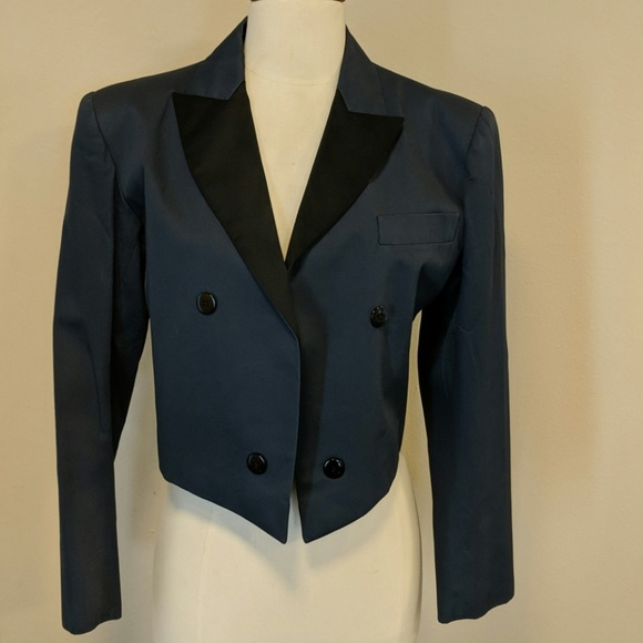 7446249dc6b Ysl tuxedo in cotton navy/black. Yves Saint Laurent.  M_5b01da7f3b1608954089d5bb. M_5b01da8fa4c485dff0202512.  M_5b01da9cfcdc31d3f55dbdb7